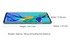 Huawei P30 Smartphone Specifications Huawei Global