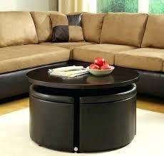 ottoman storage coffee table storage coffee table ideas black round modern wood ottoman storage coffee table