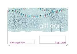 Gift Card Word Template Free Gift Card Templates For Your Business Christmas Word