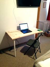 foldable office table. Foldable Desk Table Fold Down Wall Mounted Folding Home To Build . Office