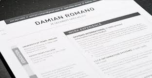 get the resume template best word resume template