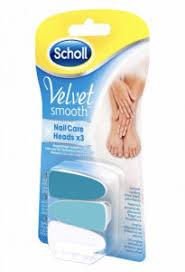 Scholl Velvet Smooth Nn Do Elpilníku Na Nehty Modré 6bal