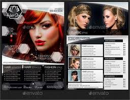 12 hair salon flyer templates psd free eps format