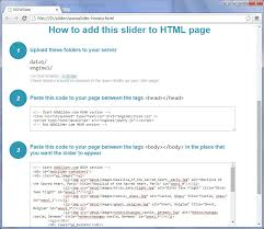 How can I add WOWSlider into an existing HTML page?
