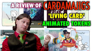 a review of cardamajigs living cards animated ns for magic the gathering you