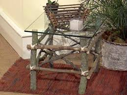 Image Interior How To Make Twig Furniture Hgtvcom How To Make Twig Furniture Hgtv