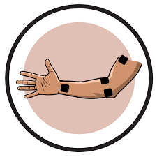 Tens And Ems Device Placement Charts Electrode Pad Placement By Body Part Part Condition