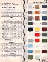 Mercedes Paint Colour Chart Paint Colour Charts Online Charts Collection