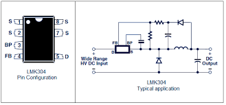 12v 120ma switch mode power supply using lnk304 lnk304