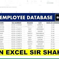 Free Employee Database Template In Excel Employee Training Plan Template For Access Access Employee