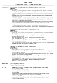 Accounting Manager Resume Reporting Accounting Manager Resume Samples Velvet Jobs 20