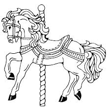 Small Picture Carousel Horse Going Circle Coloring Pages Best Place to Color