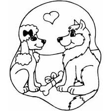 Small Picture Dogs Coloring Pages Printable nebulosabarcom