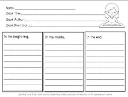 Story Template Beginning Middle End 27 Images Of Sequencing Beginning Middle End Template