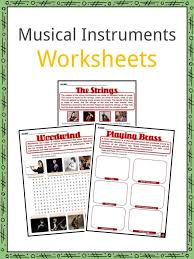 Extend the learning with these interactive online sites about the orchestra: Musical Instruments Facts Worksheets Characteristics For Kids