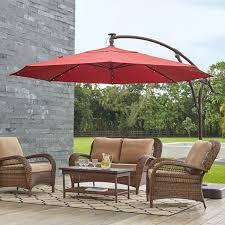 patio table umbrellas.  Patio Patio Umbrellas  The Home Depot Within Table Umbrella 7143 To