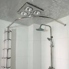curtain ingenious idea round shower curtain rod rods images for corner home depot over the bed