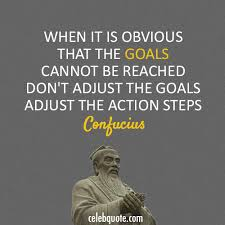 Confucius Quotes Awesome Confucius Quote About Goals Action CQ