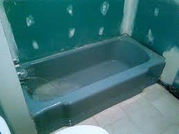 luxury blue bathtub c t refinishing tub reglazing fiberglass repair photo remodel idea water paint stain mat baby bathroom