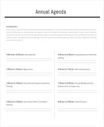 17+ Agenda Planner Templates | Free & Premium Templates