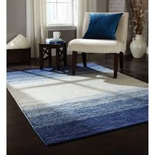 blue and white x area rug ombre all about rugs black cowhide dining room patchwork plush for living neutral color