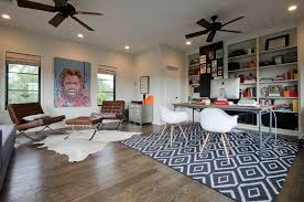 masculine office. Masculine Office Home Contemporary With Area Rug Damp Wet Listed Flush-