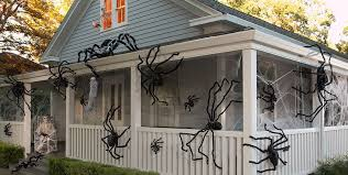 ... Giant Spiders & Spider Webs Halloween Decorations ...