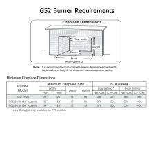 venting for gas fireplace real vented gas fireplace burner size requirements for fireplace opening direct vent