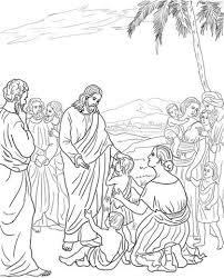 Jezus Zegent De Kinderen Kleurplaat Gratis Kleurplaten Printen