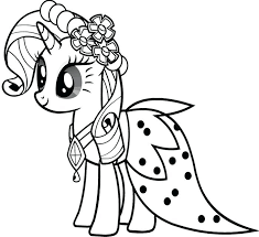 My Little Pony Coloring Pages Print Print Coloring Pages Free Pony