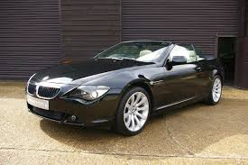 Coupe Series bmw 645 convertible : Used Bmw 6 Series 630I Sport Automatic Convertible | Seymour Pope -