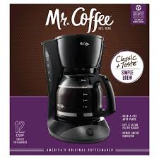 It has three serving size options (the largest is just 10 ounces, though), and owners say they love how compact it is. Walmart Mr Coffee 12 Cup Coffee Maker On Clearance For 4 50 The Accidental Saver