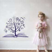 <b>YOYOYU</b> Art Home Decor Book <b>Tree Wall Decal Vinyl Sticker</b> ...