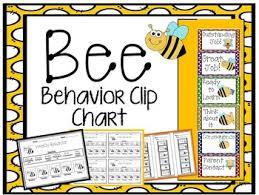 Bee Behavior Clip Chart In 2019 Products Behavior Clip