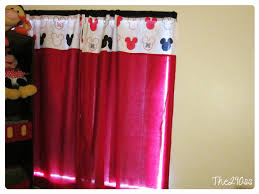 Mickey Mouse Bedroom Curtains The290ss Mickey Mouse Curtains Room Deco Tutorial