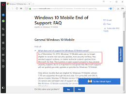 The End Of Windows 10 Mobile The Facts Ghacks Tech News