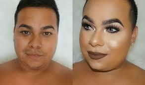 skin insram bad makeup tutorial cut crease bold dark lips junior macias