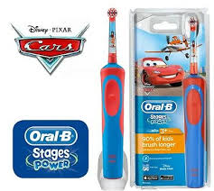 <b>Oral</b>-<b>B Vitality</b> Stages Power Electric Rechargeable Toothbrush <b>Cars</b> ...
