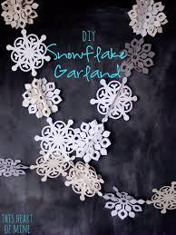 Paper Snowflake Garland 1.1