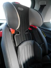 graco nautilus elite car seat in high backed booster mode