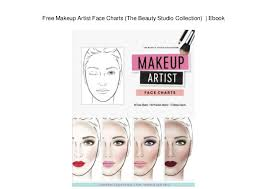 Makeup Charts Free Free Makeup Artist Face Charts The Beauty Studio Collection