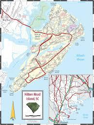 lowcountry  hilton head island sc map
