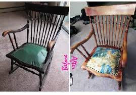 Introduction: Refinishing/reupholstering a Hand Tied Spring Rocking Chair
