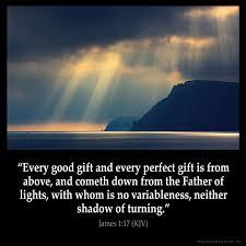 James 1:17 Inspirational Image