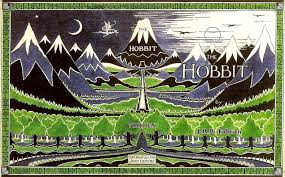 the hobbit first edition dust jacket book cover