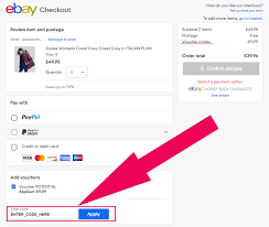 off orders with ebay voucher code