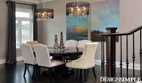 Transitional Style Dining Room Interior Design Best House Design