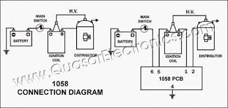 car transistor electronic ignition spark booster smart kit 1058 connection diagram