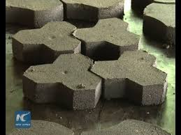 waste to wealth recycled plastic paving stone
