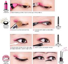 eye makeup kawaii eye makeup make up makeup kawaii korean makeup pink